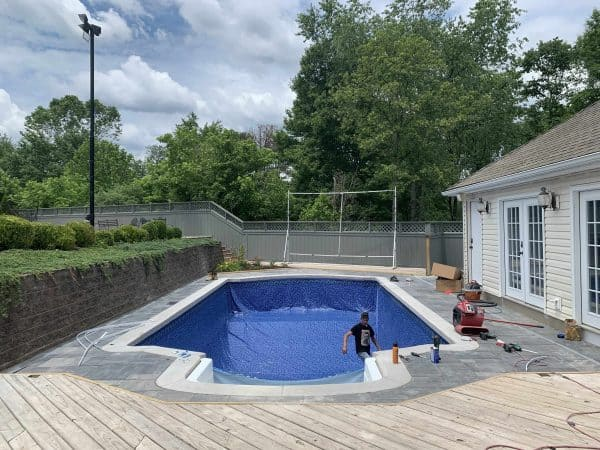 Outdoor Living Pool Restoration and Remodel