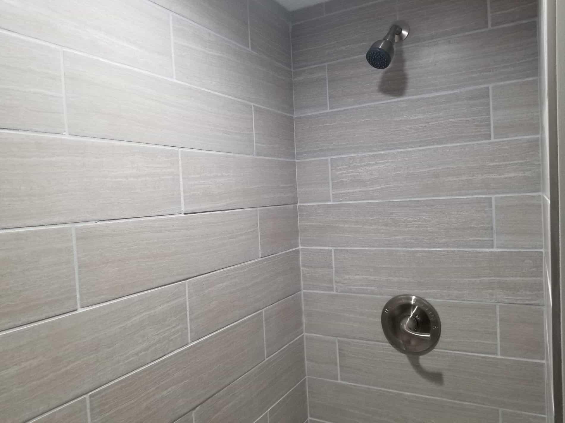 Master Bathroom Remodeling with Shower Tile