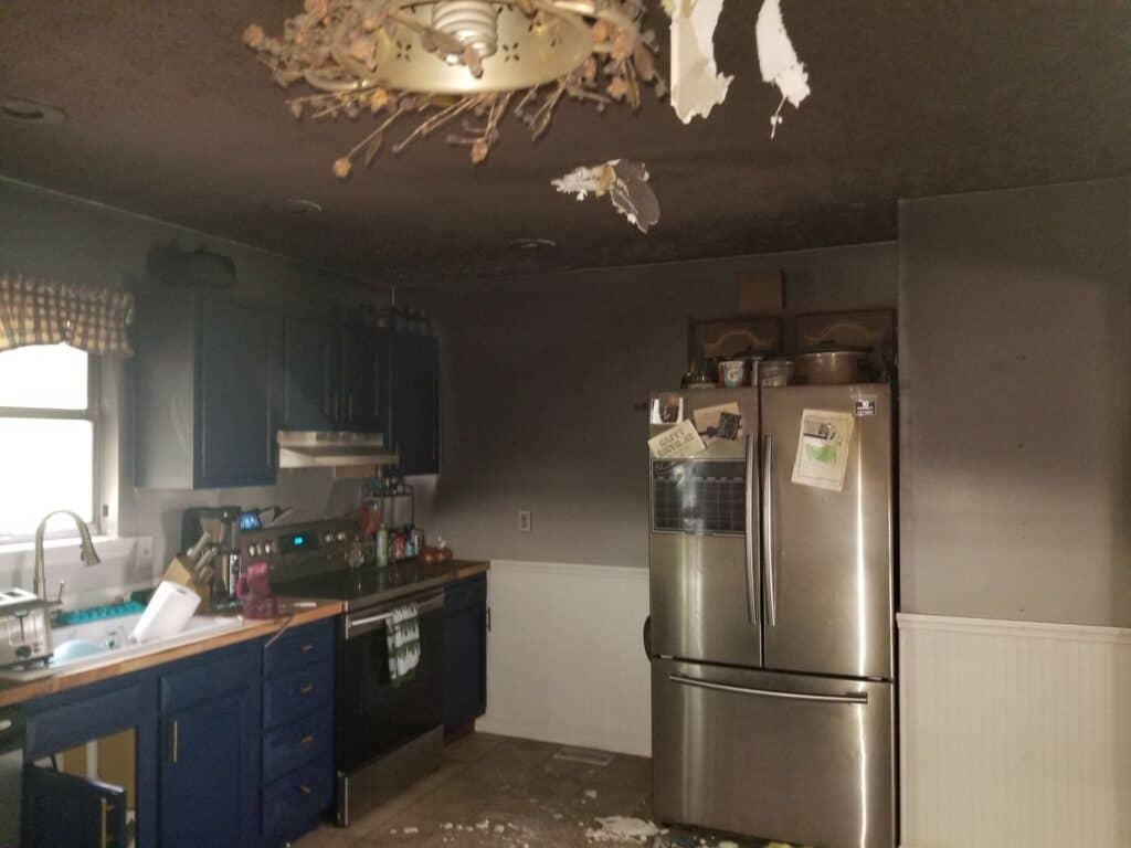 Hurricane Fire Damage Restoration for Culloden Home