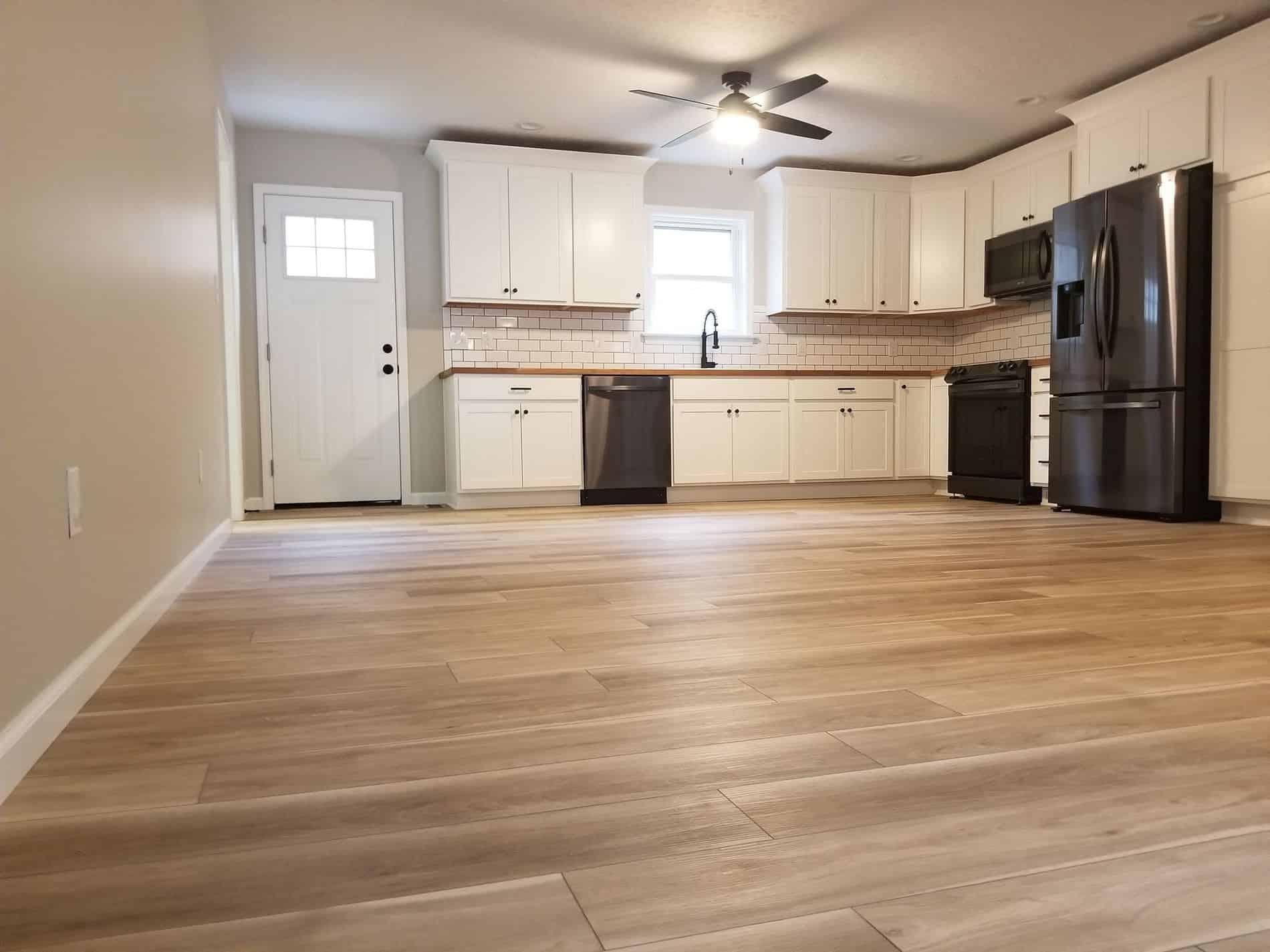 Hurricane Restoration for Kitchen Renovation of Culloden Home