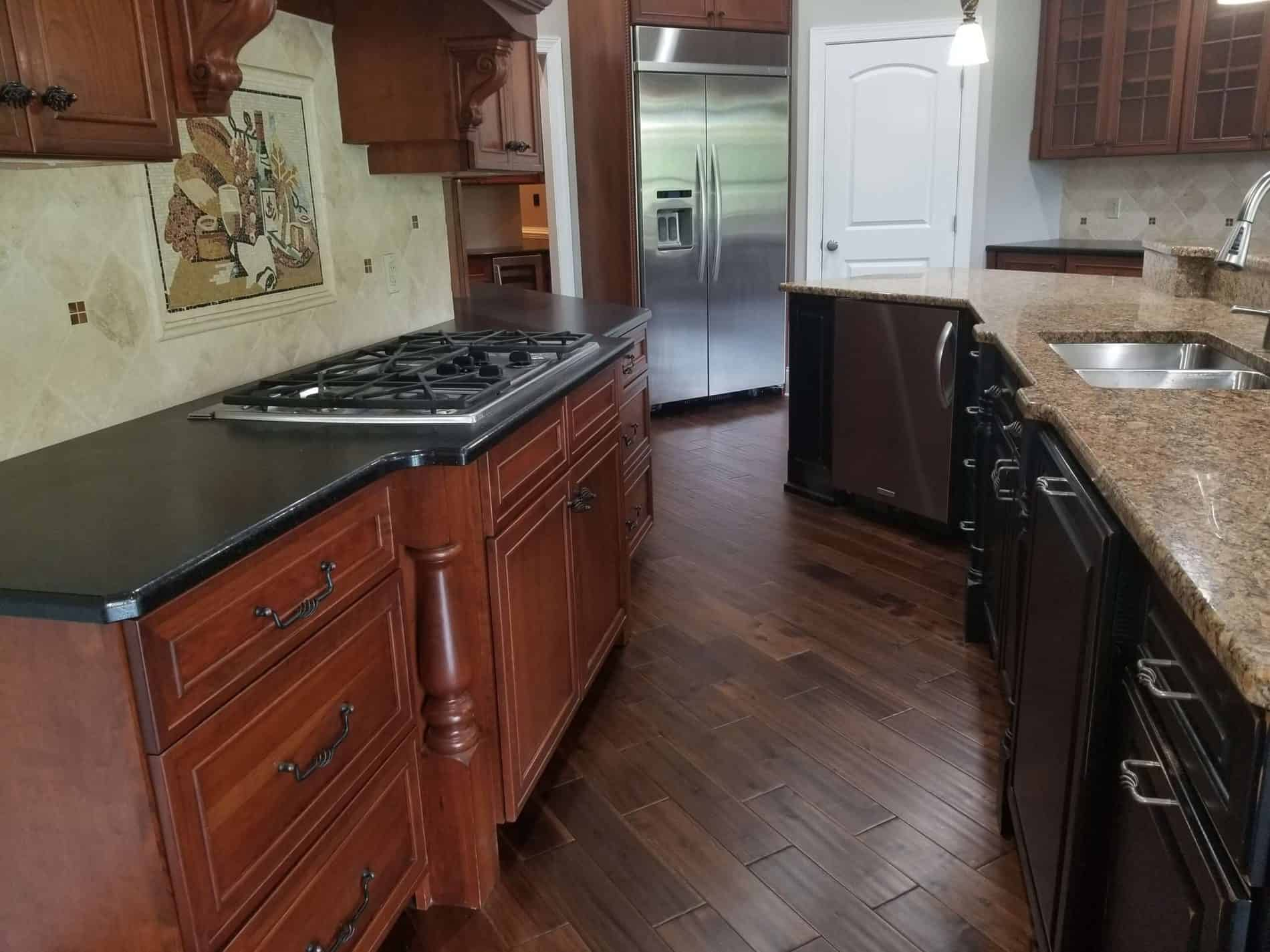 looring for Kitchen Restoration Contractor after Water Damage