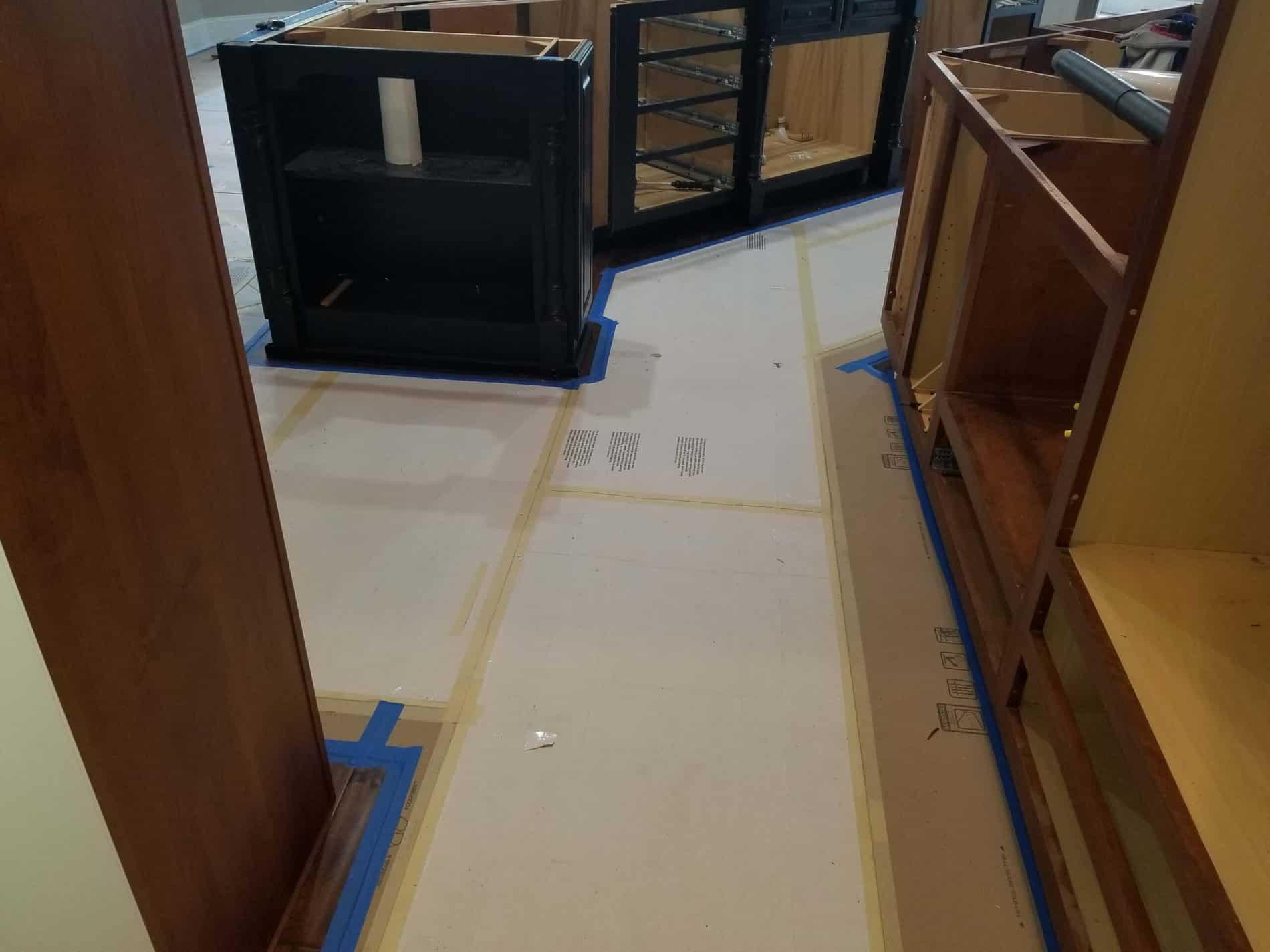 Kitchen Restoration from Water Damage in South Charleston