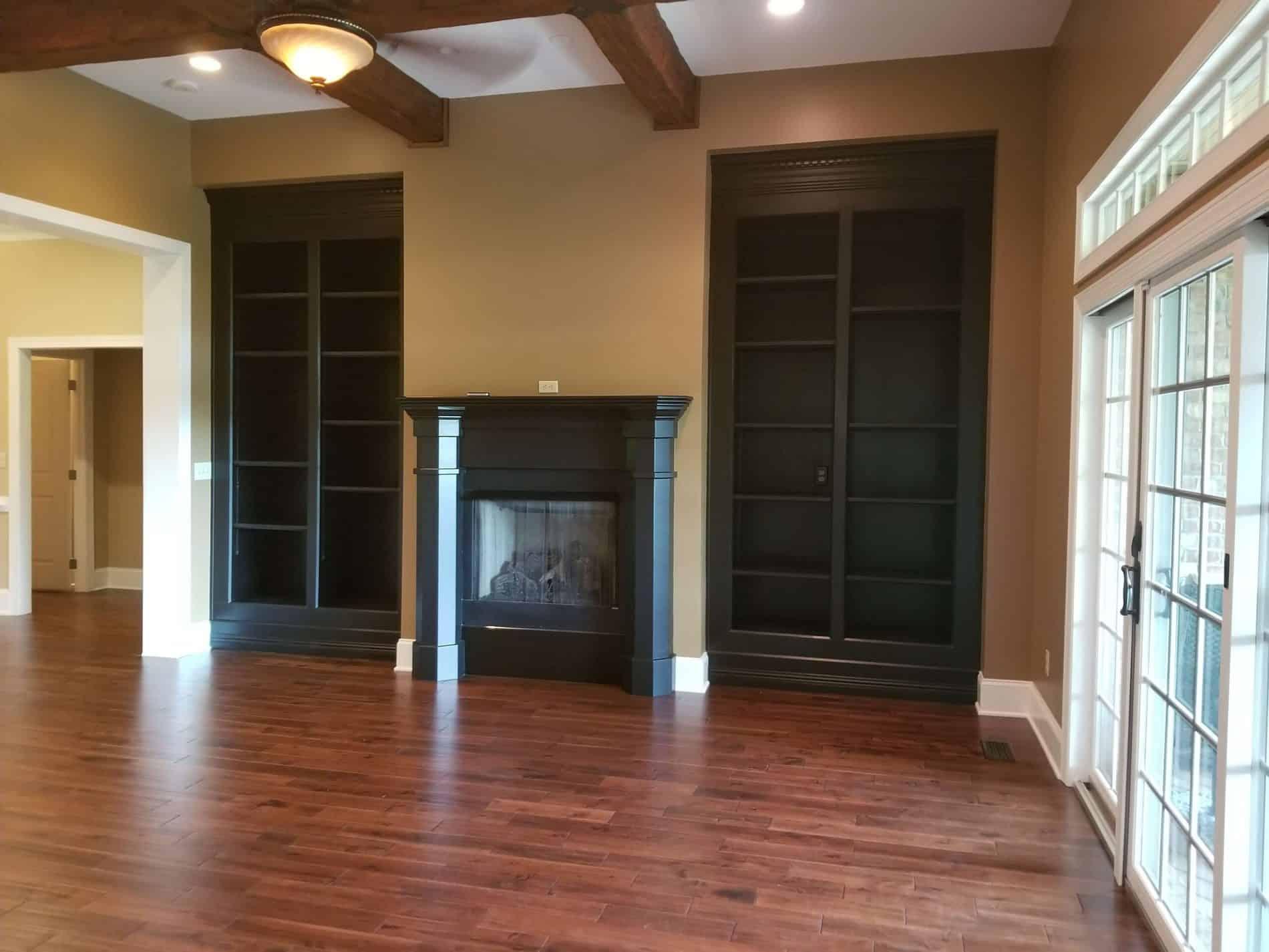 Living room restoration contractor