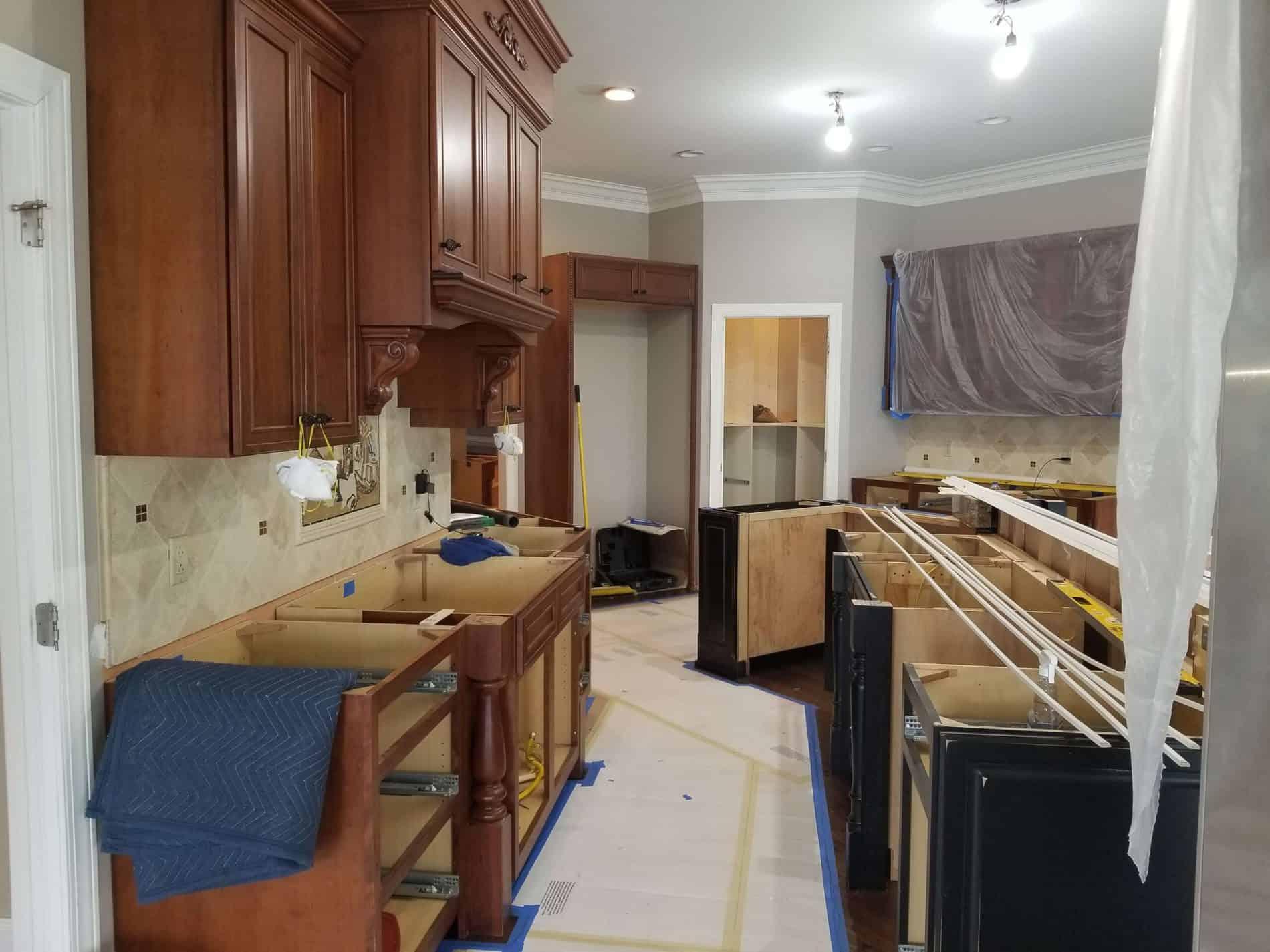 South Charleston Kitchen Renovation from Water Damage
